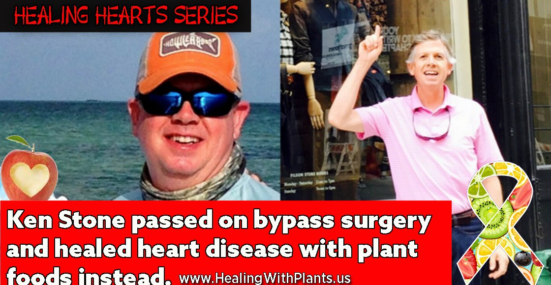 Ken Stone Passed on Bypass Surgery and Healed His Heart With Plants