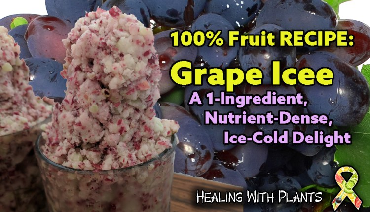 RECIPE: Grape Icee-a Nutritious One-Ingredient Drink