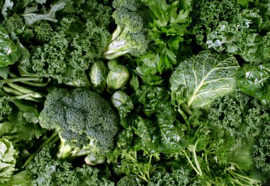 The phytonutrients found in green foods are known to protect against heart disease and cancer.
