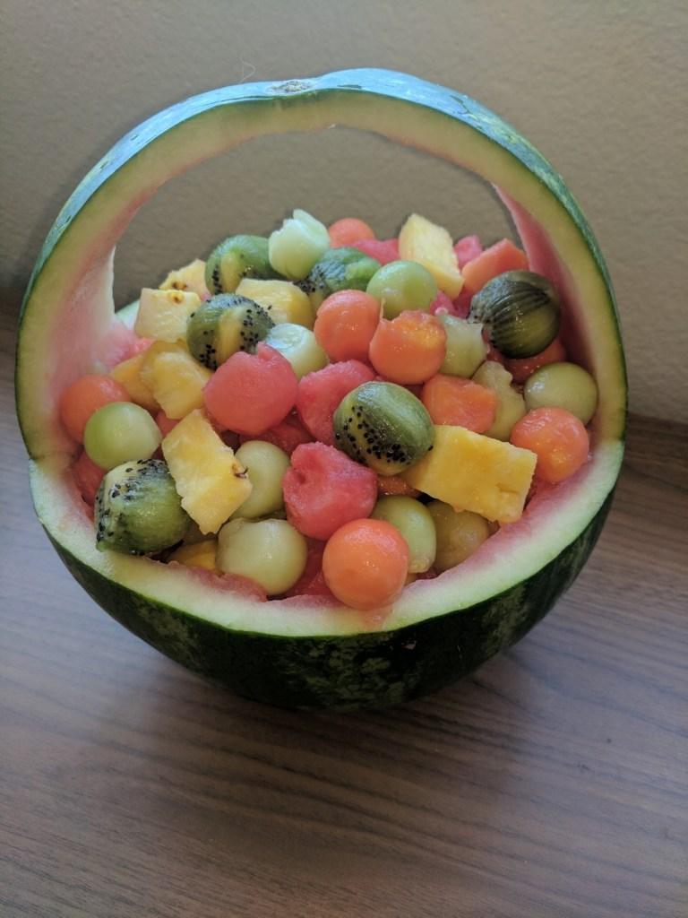Ways to Eat Watermelon Fruit Basket