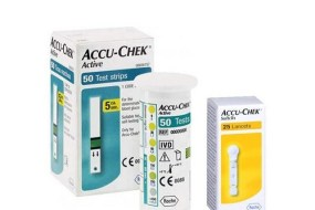 Accu Chek Active 50 Strip + 25 Lancets
