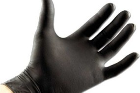 Black Nitrile Gloves 100 Pcs Box