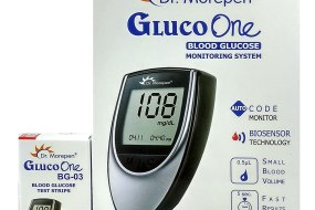 Dr Morepen Glucometer and 50 Strips