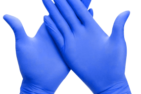 Nitrile Disposable Powder Free Gloves (100 pcs)