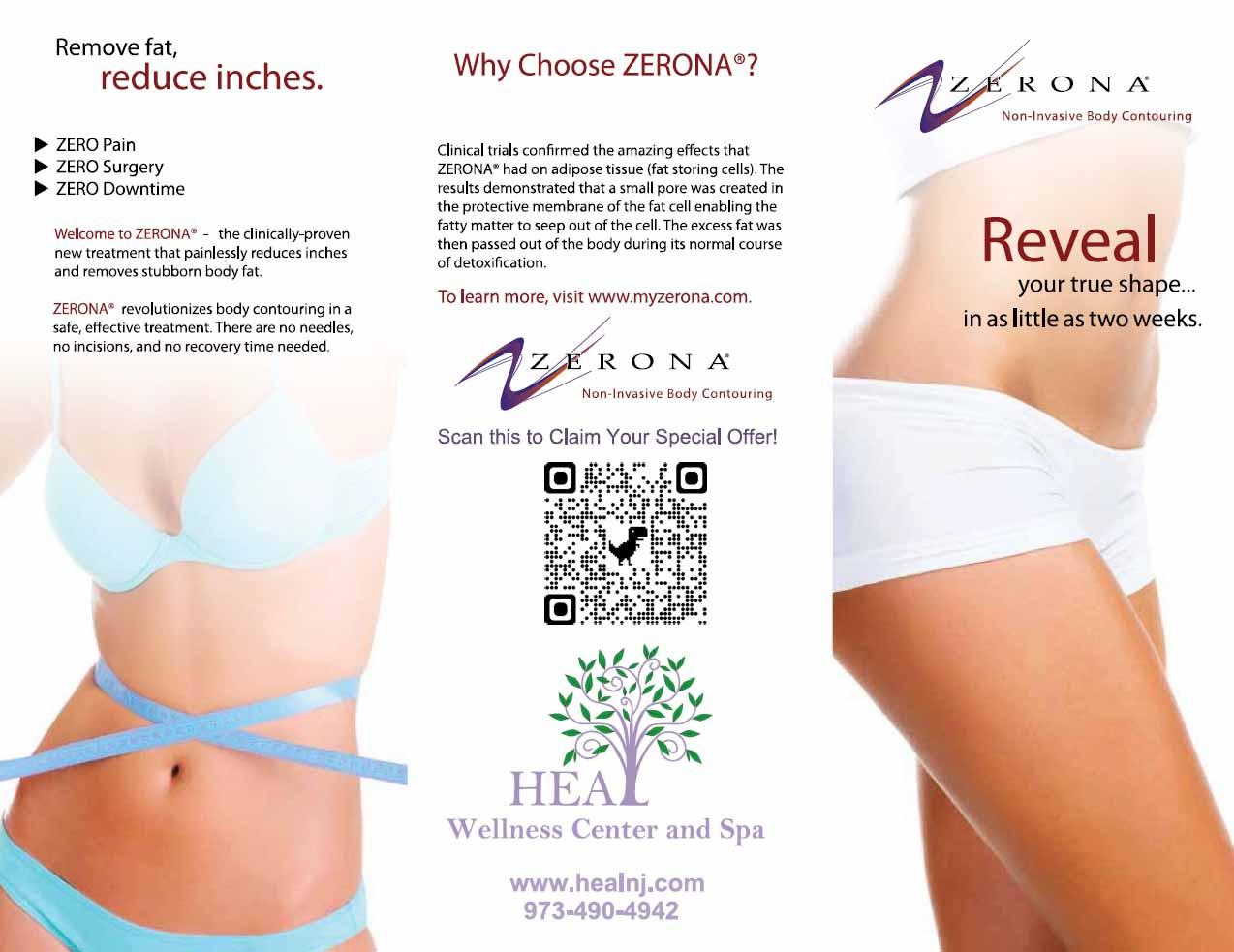Zerona - Z6 Laser, Body Contourong, Laser Slimming Program