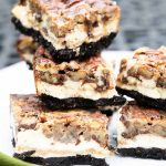 Keto Pecan Pie Cheesecake Bars