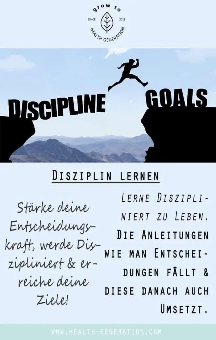 Disziplin lernen