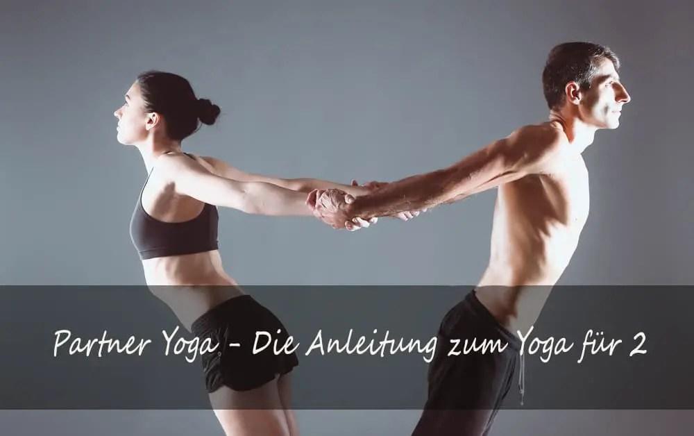 Yoga Übungen für zwei