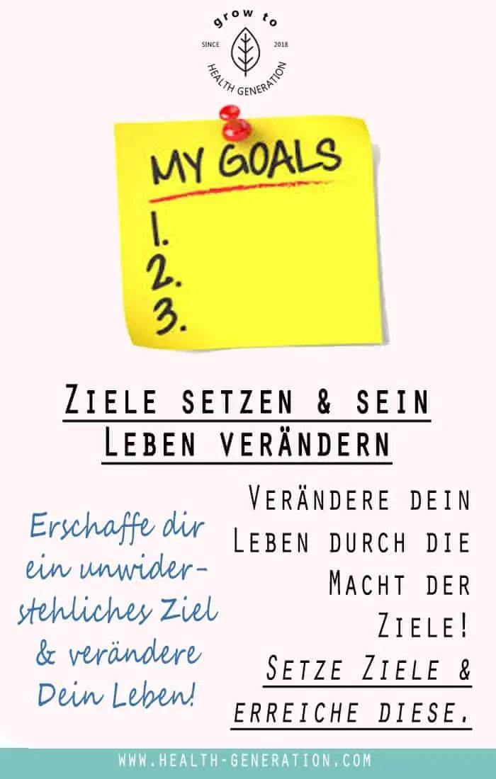 Ziele setzen & erreichen