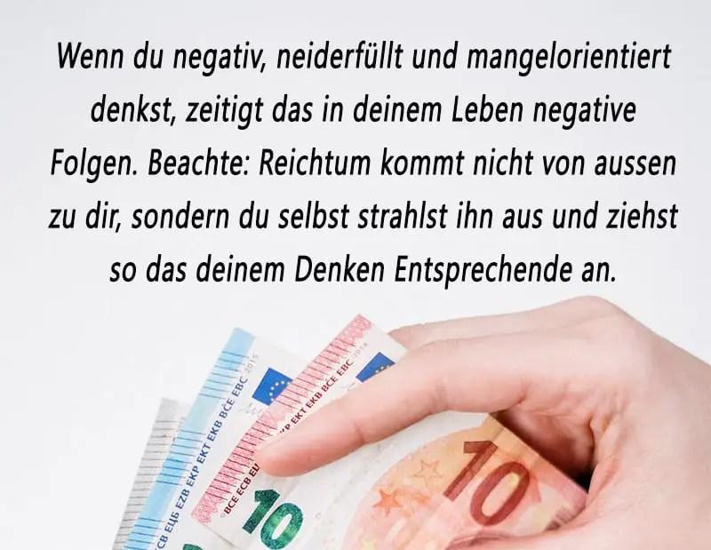 Geld, Reichtum, Erfolg spirituell anziehen manifestieren