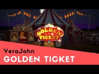 ベラジョンカジノ人気スロット GoldenTicket 動画