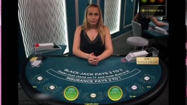 エンパイアカジノのブラックジャックで一瞬で$500負け、イカサマ!?