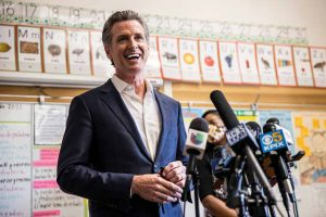 California counties with high Covid vaccination rates helped Newsom win the recall election