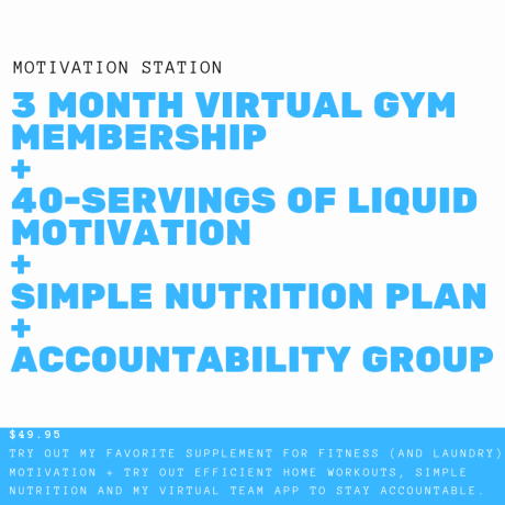 1 Year Virtual gym membership + 1-month wellness formula + simple Nutrition(1)