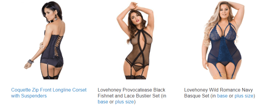 Guide to Lingerie Styles - Sex Toys