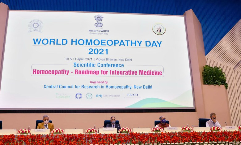 Two-day conference to be organised on 'Homoeopathy - Roadmap for Integrative Medicine'