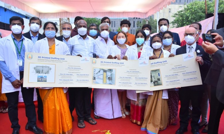 'Doping unit' developed to protect frontline health workers