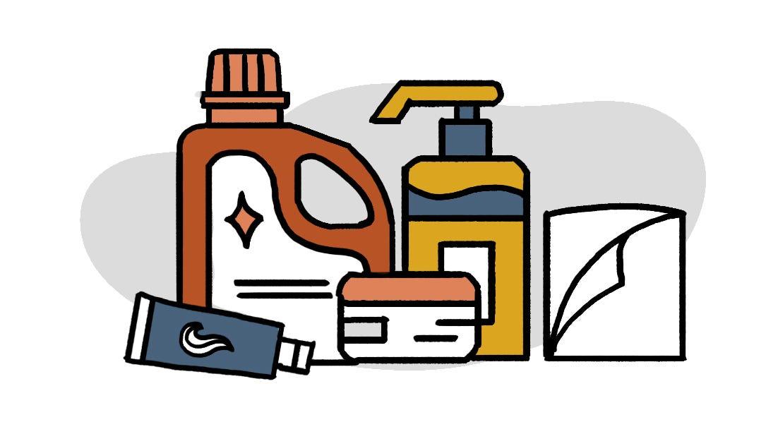 防疫物資清單洗護用品類