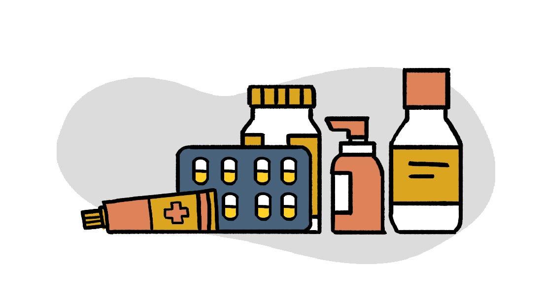 防疫物資清單藥品類