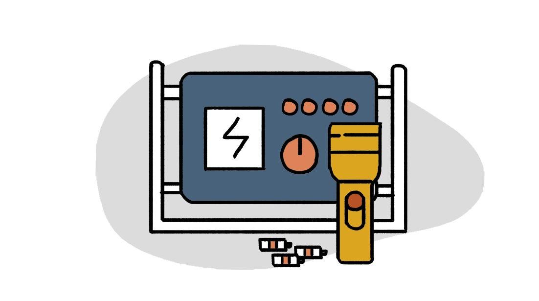 防疫物資清單電器照明類