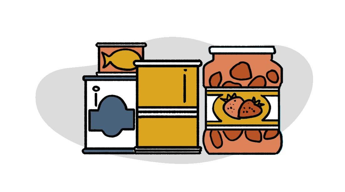 防疫物資清單食品類