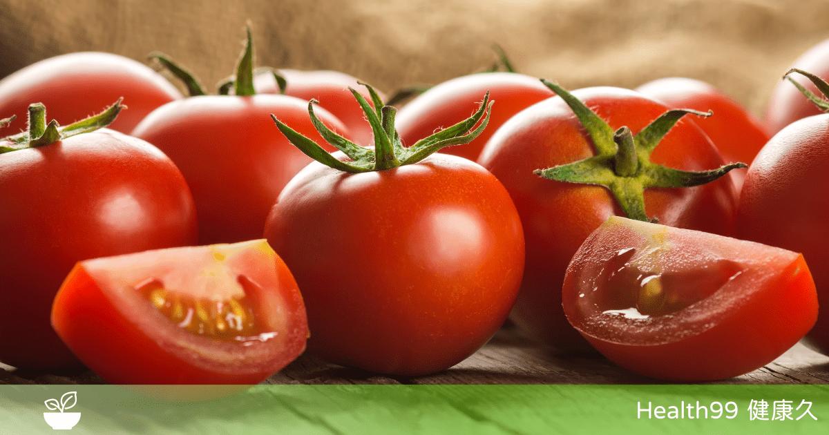 You are currently viewing 【飲食營養】番茄對心腦血管有好處!吃番茄的5大好處,你知道嗎?