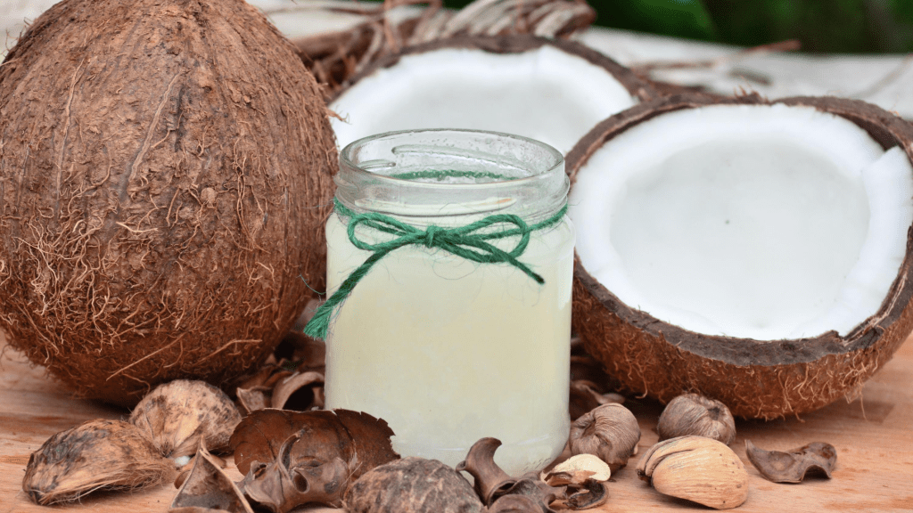 Baby Acne Natural Remedies: Coconut Oil