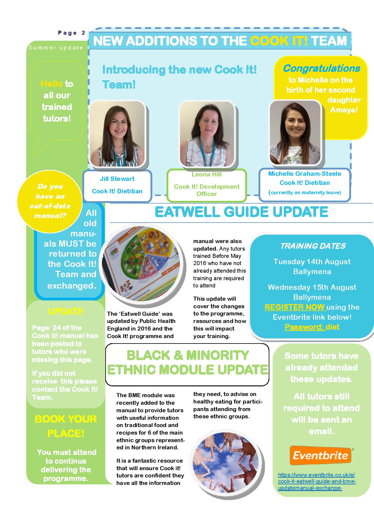 New Eatwell Guide