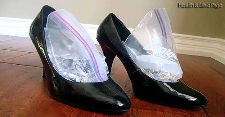 Genius Trick To Expand Your Tight Shoes, After This You'll Wear Them Without Any Pain