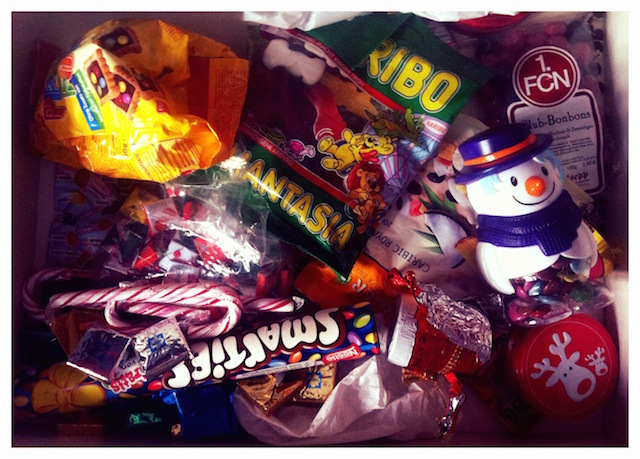 Süßes Laster Schokolade