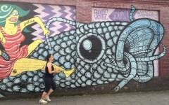 Joggen lernen vor einem Graffiti in Gent Joggen lernen: Welche Tricks mir beim Laufen helfen