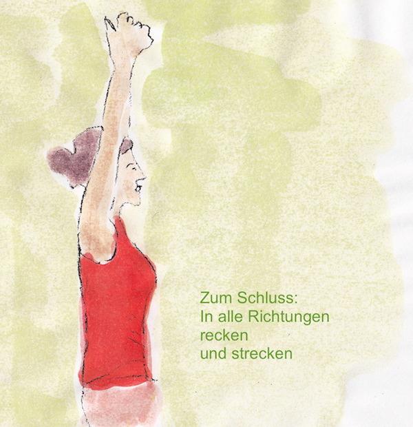 Nackenschmerzen, was tun? Unsere Uebung Recken healthandthecity.de
