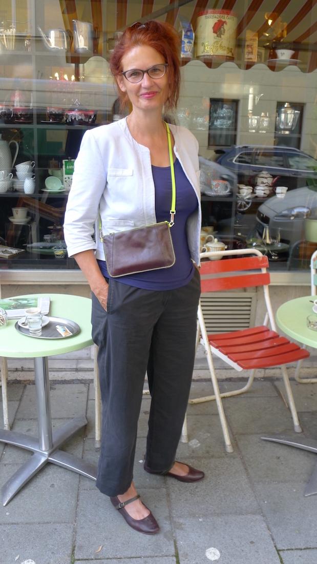 Upcycling-Ideen gehen aus: Das Umhängetäschchen ist aus alten Lederschuhen entstanden healthandthecity.de