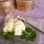 Meine liebsten Minze Rezepte Minz-Limetten-Sorbet frisch aus der Eismaschine