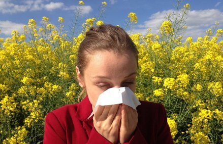 New spring allergy sufferer?