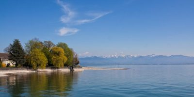 Negative Ions on Lake Constance, Germany