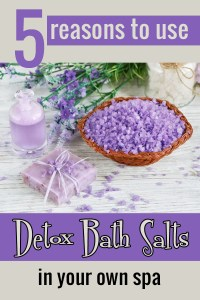 5 reasons to use detox bath salts