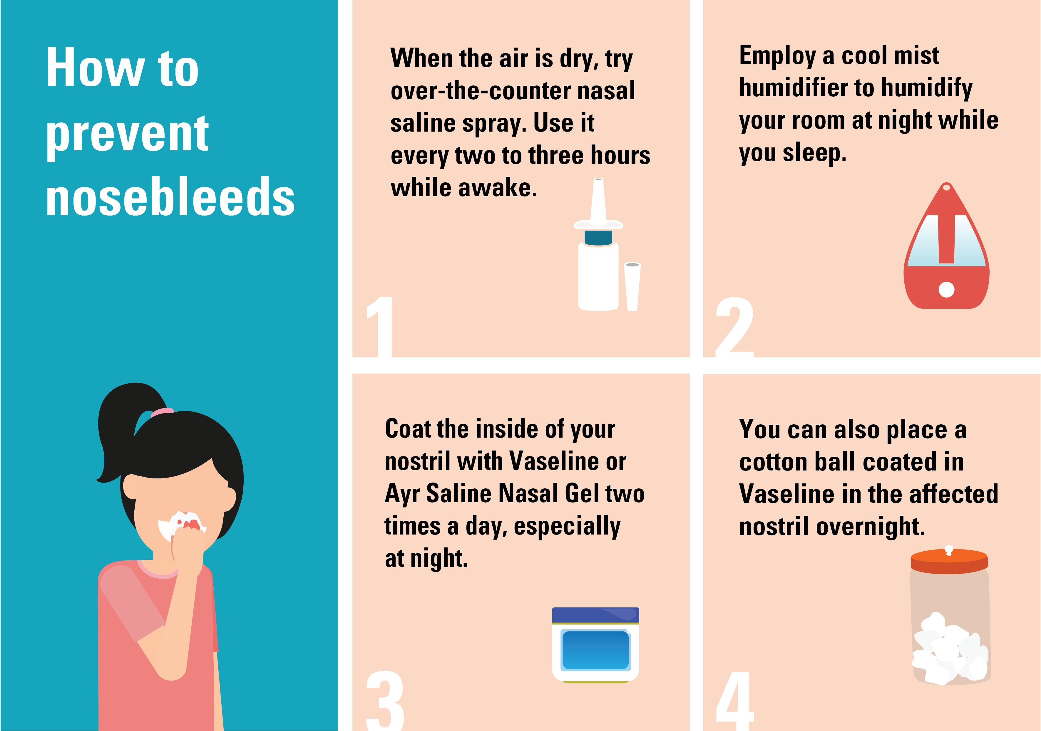 Nose Bleeds What Causes Nosebleeds And How To A Stop