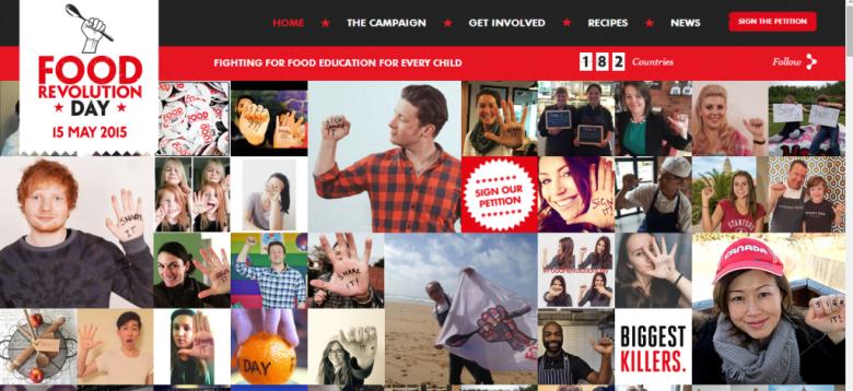 Food Revolution Day Site