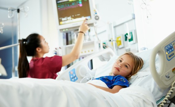 Child in ICU