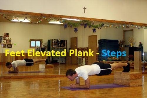 Feet Elevated PlanK - Step 1