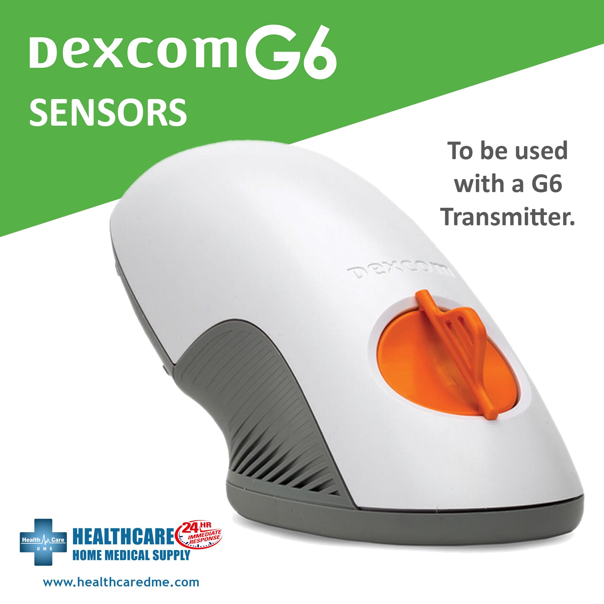 DEXCOM G6 SENSORS | Michigan USA Diabetes Continuous Glucose Monitoring System DEXCOM G6 SENSORS