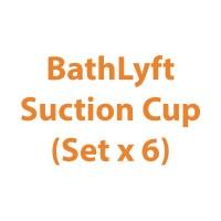 BathLyft Suction Cup (Set x 6) | Michigan USA