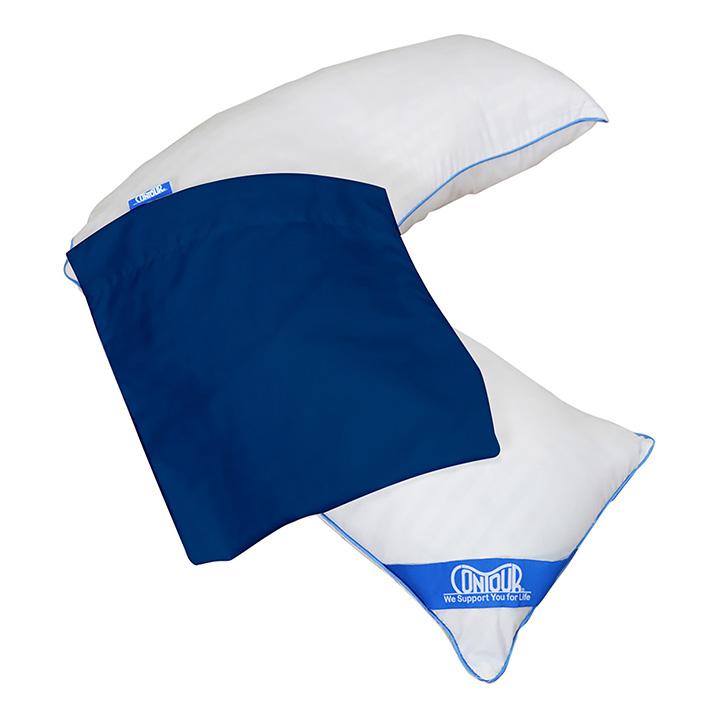 Contour L Shape Pillow Case | Michigan USA