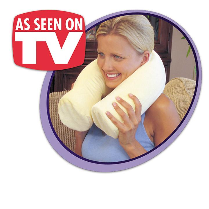 Twist Memory Foam Travel Neck Pillow | Michigan USA