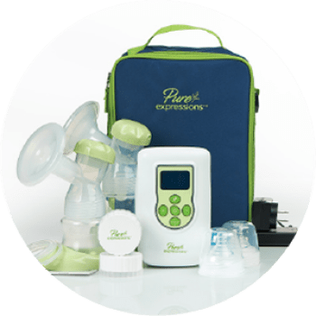Pure Expressions Dual Channel Electric Breast Pumps in michigan usa