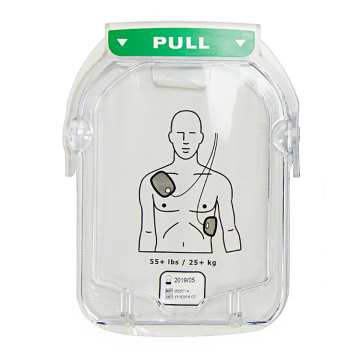 Philips M5071A Smart Adult Electrode Cartridge for HeartStart OnSite and HeartStart Home AEDs Available in Michigan USA