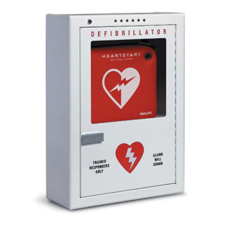 Philips Premium AED Cabinet - Surface - Mount PFE7024D in Michigan USA