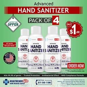 hand sanitizer advanced lxr biotech hand sanitizer Durable Medical Equipment Supply michigan usa