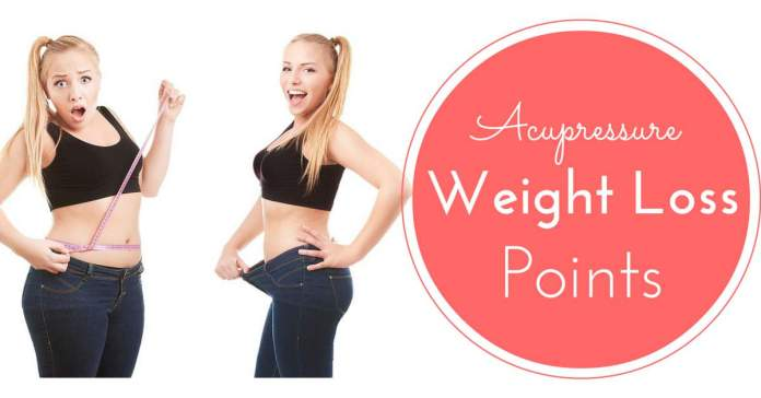 Acupressure points for weight loss